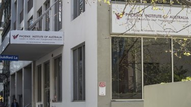 Phoenix Institute of Australia, Queen Street in Melbourne.