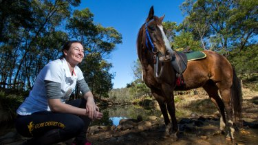 Belinda Ritchie is off to compete in the Gobi Desert Cup, a multi-stage horse endurance race.