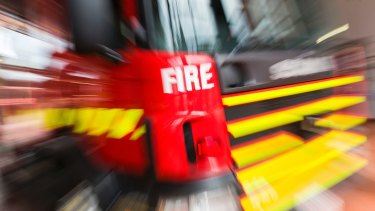 Firefighters are battling a blaze at a recycling plant in Laverton North.