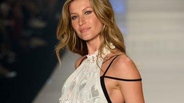In the spotlight: Brazilian supermodel Gisele Bundchen.