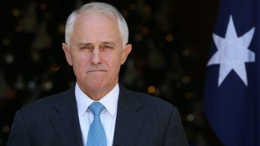 """""""You cannot take anything for granted:"""" Prime Minister Malcolm Turnbull."""
