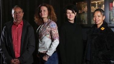 Kim Scott, Felicity Castagna, Catherine McKinnon and Michelle de Kretser.