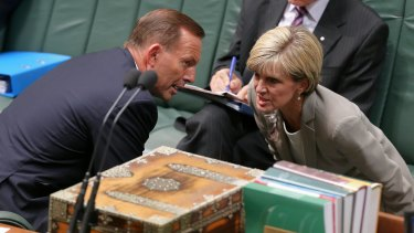 Prime Minister Tony Abbott and Foreign Affairs Minister Julie Bishop are believed to share concerns over China's proposed Asian bank.