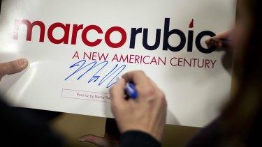 Despite Saturday's disastrous performance, Marco Rubio still has backers.