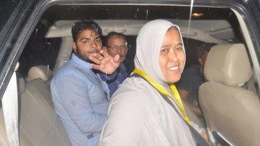 Zulfiqar Ali's wife Siti jubilant after her husband's life was spared.