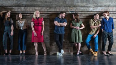 Ruth Park's characters display the finest of human traits: some of the cast  of the upcoming Sydney Theatre Company production of <i>The Harp in the South</I>.