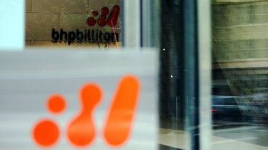 "Just one analyst is willing to recommend to ""sell"" coveted blue-chip stock BHP Billiton"