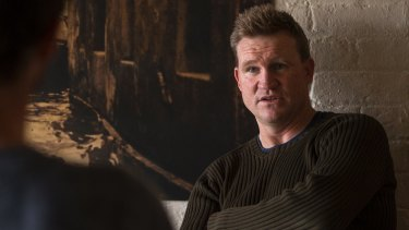 """Nathan Buckley: """"A lot of the hopes and dreams, laughs and tears in football, people ride them with you."""""""