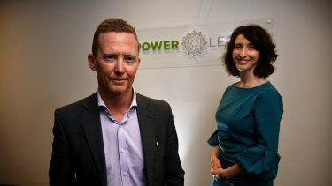 Jemma Green (chair) and Dave Martin (CEO) of Power Ledger.