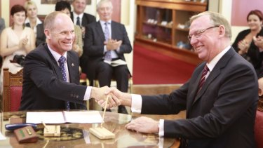 Mr Seeney served as deputy in Campbell Newman's government.