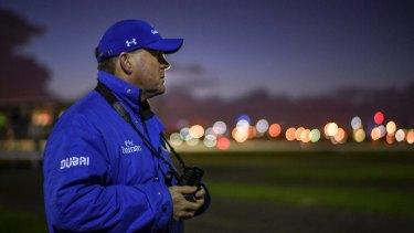 Taking a break: John O'Shea has stepped down from his role as Godolphin trainer.