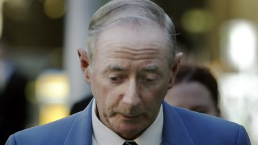Gerard McNamara outside court in 2005