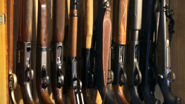 Eighty-seven Victorians  had their firearm licences reinstated in 2015-16.