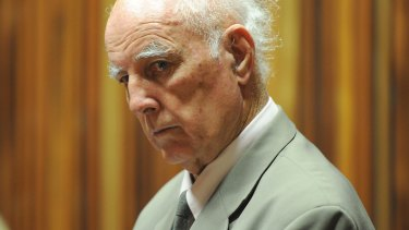 Guilty: Bob Hewitt was convicted in a South African court.