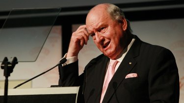 Alan Jones is angry at Scott Morrison's foreign land ownership register.