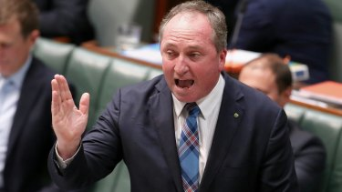 "Acting Prime Minister Barnaby Joyce says Australia would be ""bonkers"" to introduce a sugar tax."