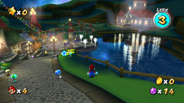 Sci-fi influences were a perfect match for the futuristic Wii controller in <i>Super Mario Galaxy</i>.