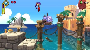 Much of the game's challenge comes from well-timed jumps and relentless enemies.