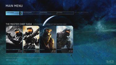 All four numbered <i>Halo</i> games, remastered and with all multiplayer content intact, are the main attraction in <i>The Master Chief Collection</i>.