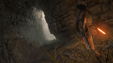 Exploring caves and tombs makes up a big part of the new game.