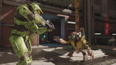 <i>Halo 2</i> gets the anniversary treatment, and it's looking pretty good for a 10-year-old game.
