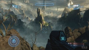 The completely remade <i>Halo 2</i> multiplayer maps, which are included in addition to their original inspirations, are some of the best-looking aspects of <i>MCC</i>.