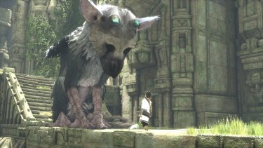 Part dog, part cat, part bird: Trico is at the heart of the game's warmth and its issues.