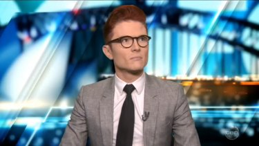 Rhys Nicholson ambushed the PM on the government's marriage equality stance.