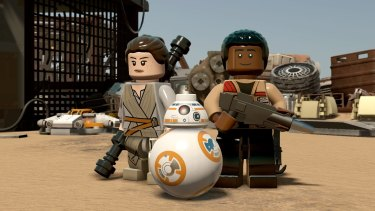 <i>Lego Star Wars: The Force Awakens</i> is the latest in a long line of playful tie-ins.