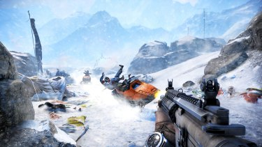 Slopes: The icy mountain environments are no less deadly or interesting than the grassy valleys.