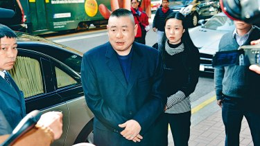 Joseph Lau, 64, made his fortune in real estate.
