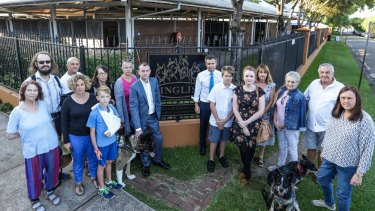 Local residents and politicians are concerned about a major residential development proposed at the Inglis stable yards in Randwick.