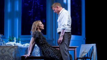 Cate Blanchett and Richard Roxburgh in <i>The Present</i>.