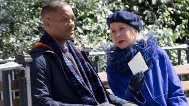 Will Smith and Helen Mirren star in <I>Collateral Beauty</I>.