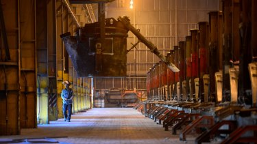Alcoa has put 14 per cent of its smelting and 16 per cent of its refining capacity under review.