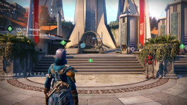 You'll return to the Tower a lot to gear up, accept missions or start an impromptu dance party.