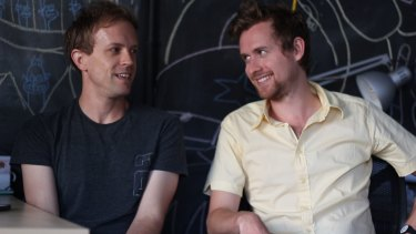 """It all came so fast"": Animators Paul Robertson and Ivan Dixon."