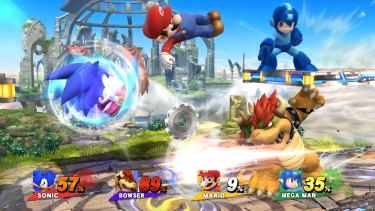 Mario and his Nintendo compatriots are joined by notable characters from elsewhere in the gaming universe, such as Sonic and Mega Man.