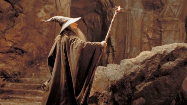 Ian McKellen plays Gandalf in the Lord of the Rings movies.