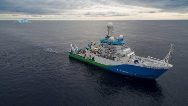 CSIRO research ship Investigator.