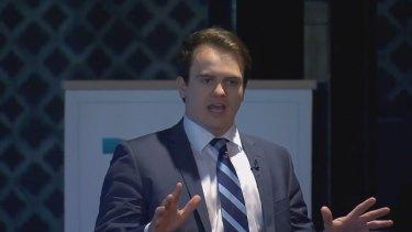 Young Liberal powerbroker Marcus Bastiaan.