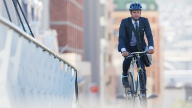 Cycling to work could save you money, according to a new study.