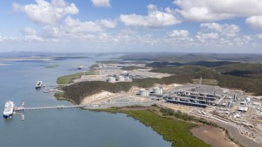 The Queensland LNG projects have all been hit heavily by write-downs after oil prices fell.