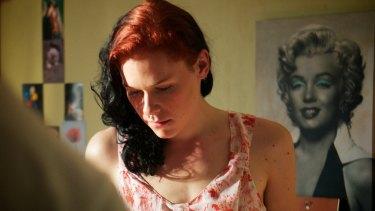 Saga Becker in <i>Something Must Break</i>.