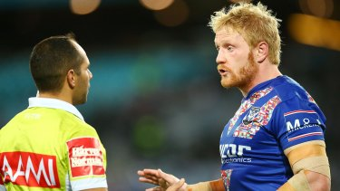 """Doesn't want a strike: Bulldogs skipper James Graham says no one wants to see industrial action. """"It hurts everyone."""""""