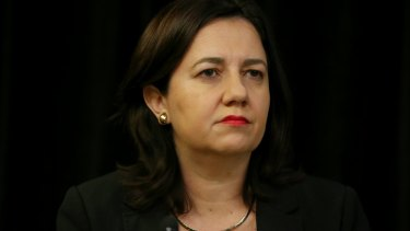 """Annastacia Palaszczuk: """"Now we see the federal government is looking at stripping that away."""""""