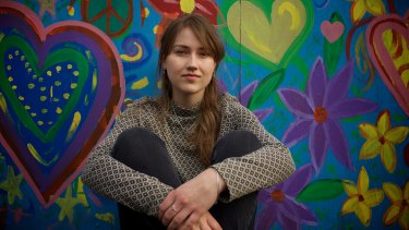 Minta Furness, a TAFE design student who left after a massive increase in fees