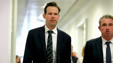 Resources Minister Matt Canavan in December accused the ABC of broadcasting fake news.
