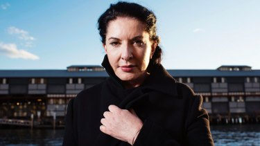 Artist Marina Abramovic has been criticised for her alleged description of Australian Aboriginals.