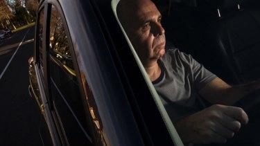 Melbourne Uber driver Joe Lipszyc.